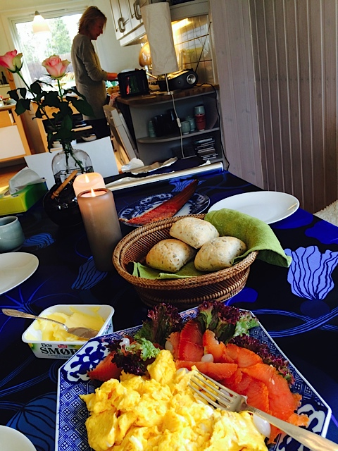 norママの朝食