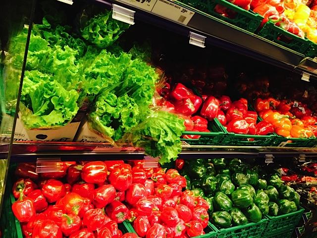 norスーパー野菜