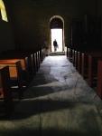 nor古い教会内部