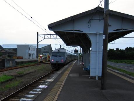 都濃駅 にちりん26号