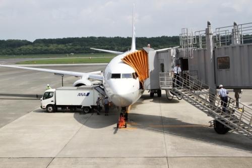 阿蘇熊本空港到着