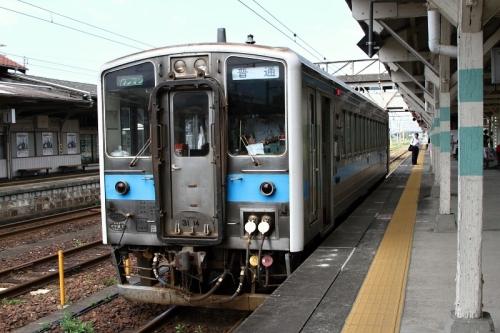 八代駅からキハ