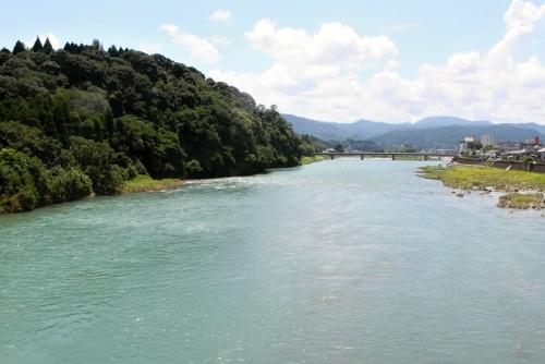 球磨川 風景