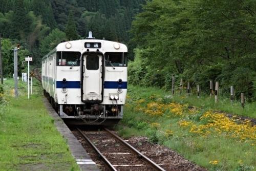 嘉例川駅 キハ47