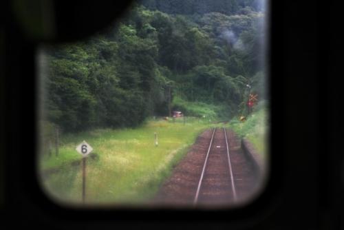 嘉例川駅からキハ47