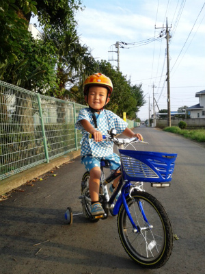 自転車甚平