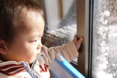 雪遊び見学