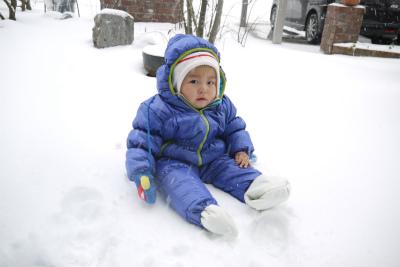 ヒロ君と雪