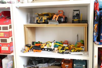 工事車両コーナー