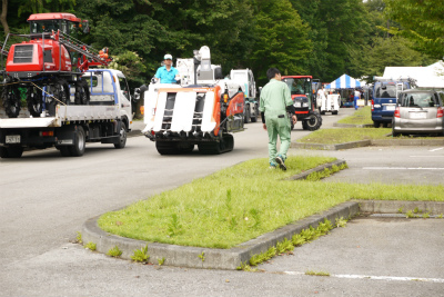 トラクターパレード
