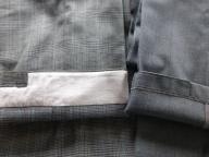 制服ズボン裾