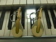ピアノハンマーキーホルダー