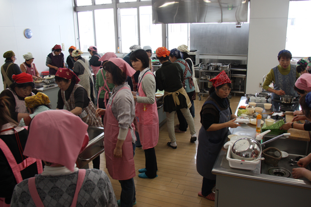 20140304JA北いぶき女性部沼田支部が料理講習会