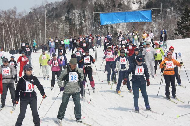 20140330明日萌の里・ほたるの里歩くスキーの集い