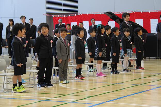 20140408沼田小学校入学式