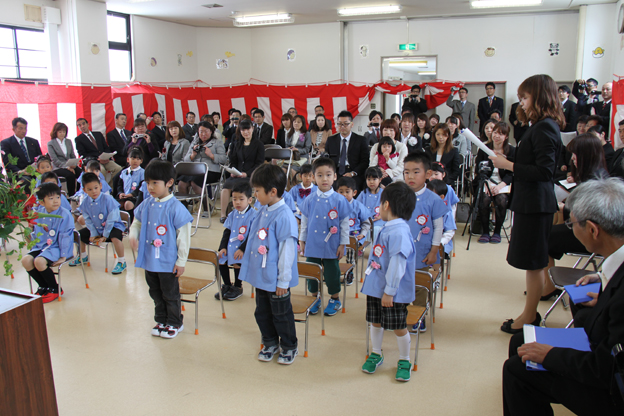 20140409沼田幼稚園入園式