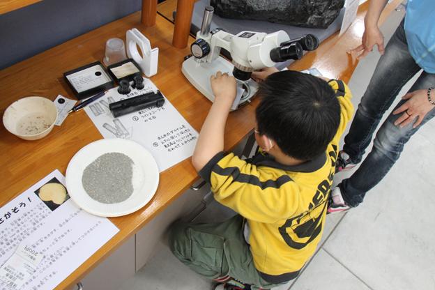 20140429化石体験館オープン