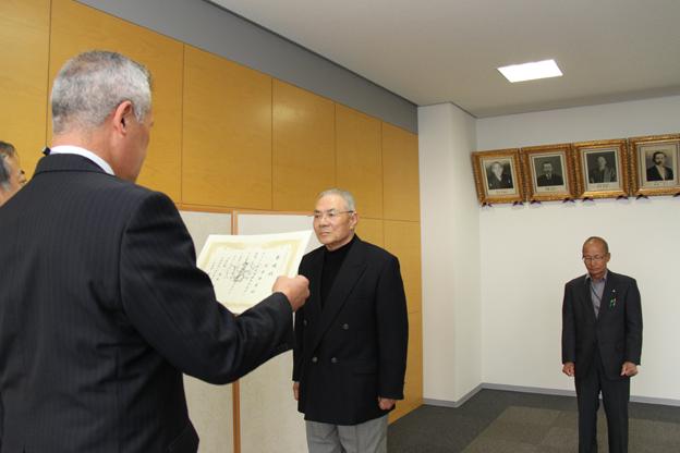 20140513自衛官募集相談員委嘱状交付式