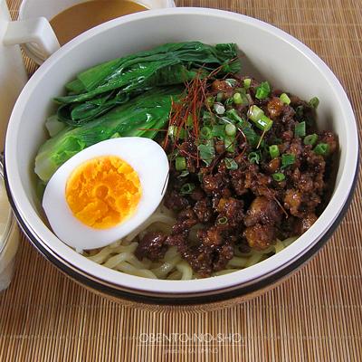 汁なし担々太麺弁当02