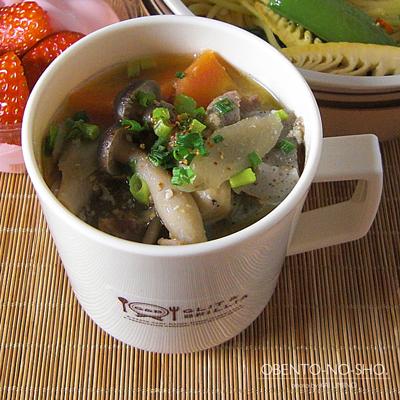 春野菜とアンチョビのパスタ弁当03