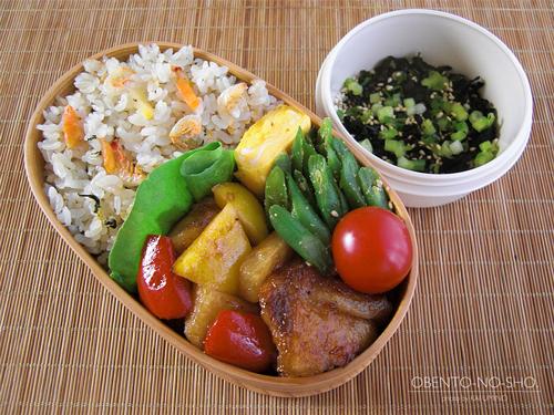 カルディの桜えび炊き込みご飯弁当01
