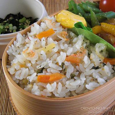 カルディの桜えび炊き込みご飯弁当03