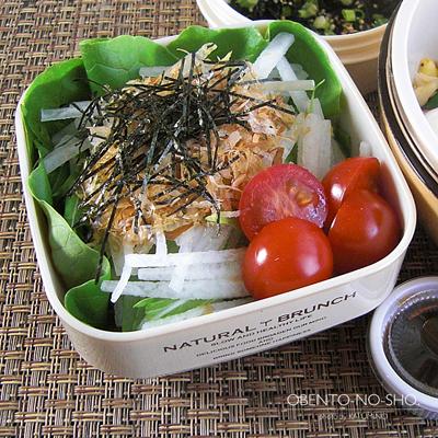 蛸と豆もやしの炒飯弁当03