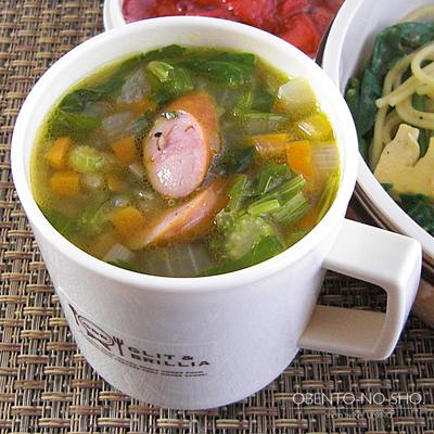 春野菜のふき味噌豆乳パスタ弁当03