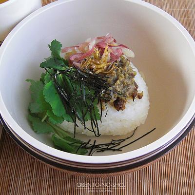 ふき味噌の焼きむすび茶漬け弁当02