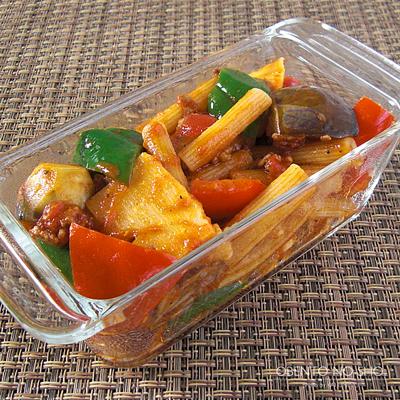 ラタトゥイユのオーブン焼き弁当03