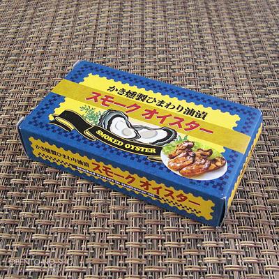 カルディの牡蛎の薫製缶詰(ただし韓国製…)