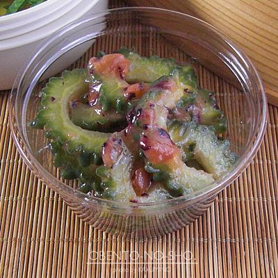 マグロとオクラのポキ丼風弁当03