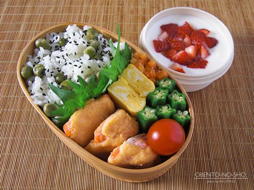 鮭のマヨ明太焼き弁当01