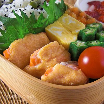 鮭のマヨ明太焼き弁当02