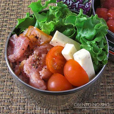 苺コンポートのフレンチトースト弁当03