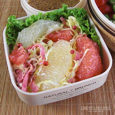 トマトとオクラの胡麻だれ蕎麦弁当03