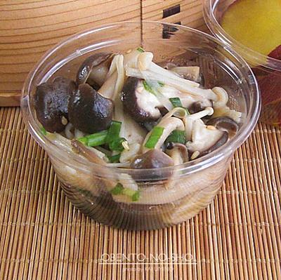 合鴨薫製の蕎麦いなり弁当03