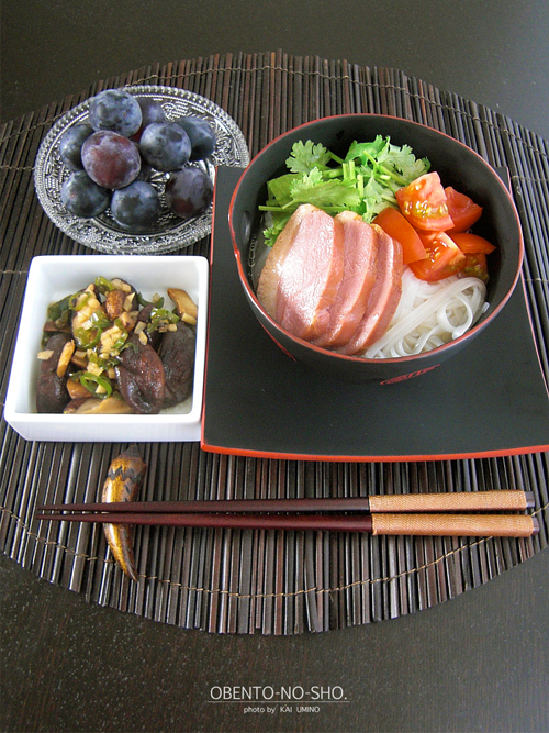 合鴨燻製のフォー*おウチご飯01