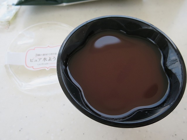 抹茶ロールケーキ水ようかん (5)