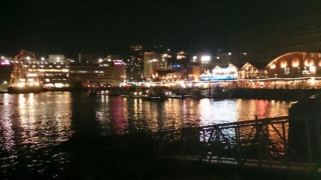 長崎港の夜景2