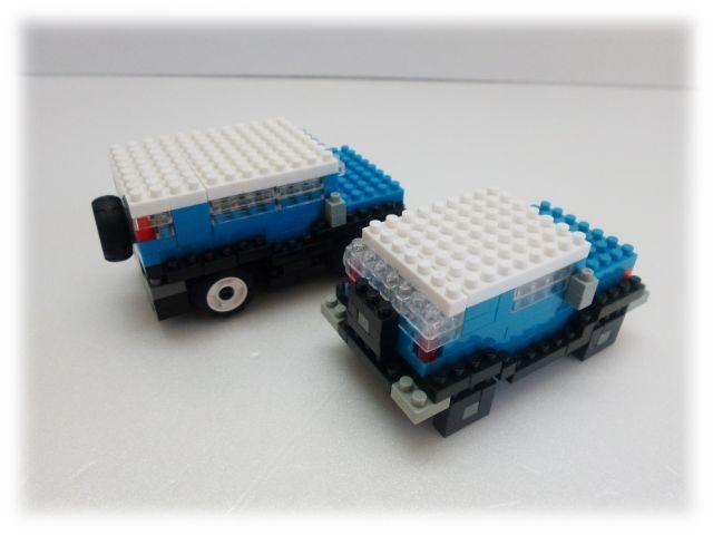 nanoblock×LaQ/TOYOTA FJクルーザー