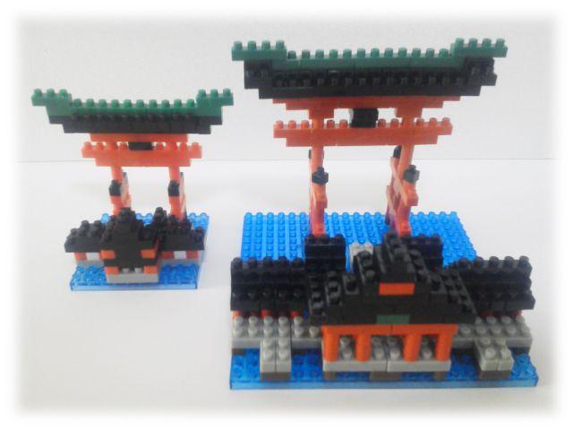 厳島神社大鳥居&mini
