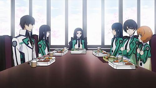 生徒会室でお弁当