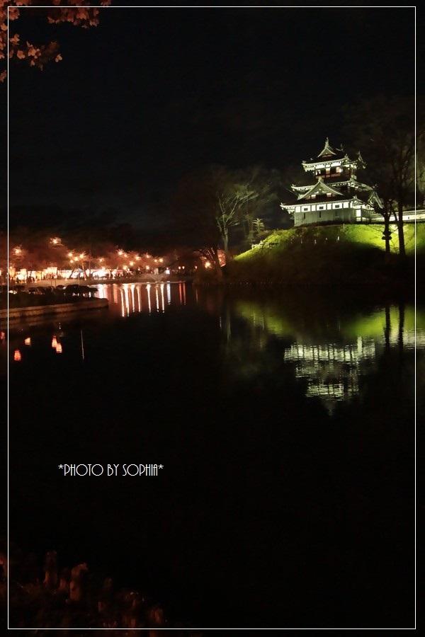 日本三大夜桜・高田