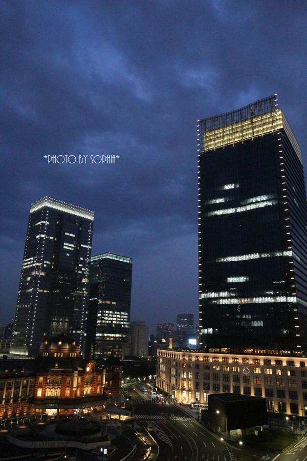 東京駅・夜Ⅱ