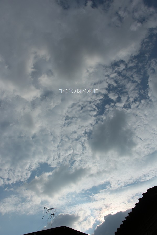 2014年6月27日の空