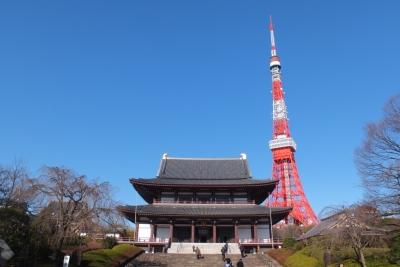 140311増上寺と東京タワー