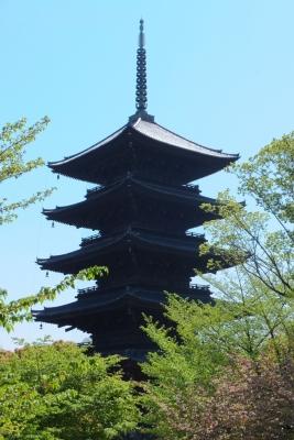 140424東寺 五重塔