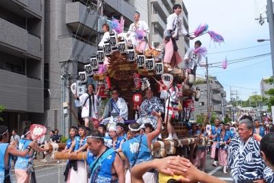 140504御影だんじり祭り②