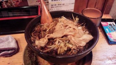 140604大阪黒醤油ラーメン